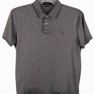 Polo Ralph Lauren Pima Soft Touch Gray Shirt Men L